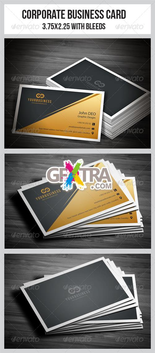 GraphicRiver - Corporate Business Cards