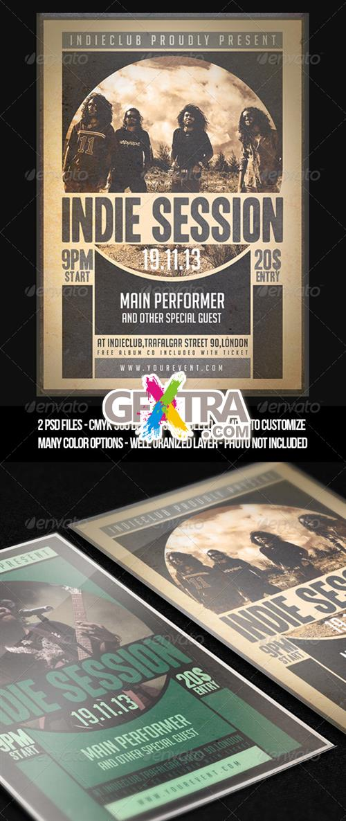 GraphicRiver - Indie Flyer Vol 1