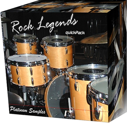 Platinum Samples Gretsch Rock Legends Kit for BFD and BFD Eco-MAGNETRiXX