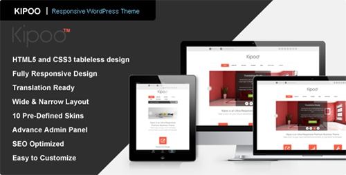 ThemeForest - Kipoo v1.1 - Responsive Business WordPress Theme