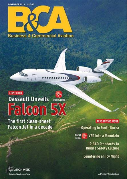 Business & Commercial Aviation - November 2013
