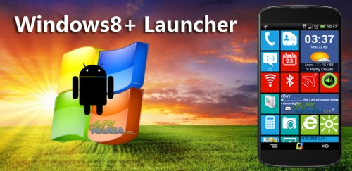Windows8  Windows 8 +Launcher v1.9.5 Build 42 (Android Application)