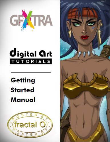 Digital Art Tutorials: COLORING IN LAYERS OR CHANNELS