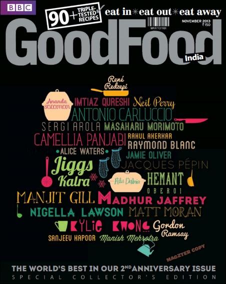 BBC GoodFood India - November 2013