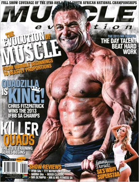 Muscle Evolution November-December 2013 (South Africa)