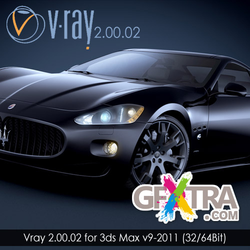Download VRAY plugin for 3DS max 2011.