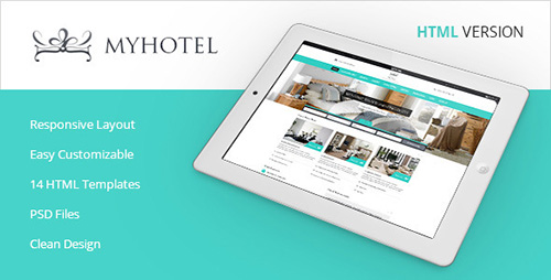 ThemeForest - My Hotel - Online Hotel Booking Template - RIP