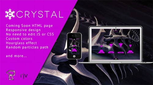 Mojo-Themes - Crystal - Responsive Coming Soon HTML - RIP