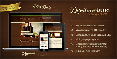 ThemeForest - AgriTourismo - Winery & Restaurant Template - RIP