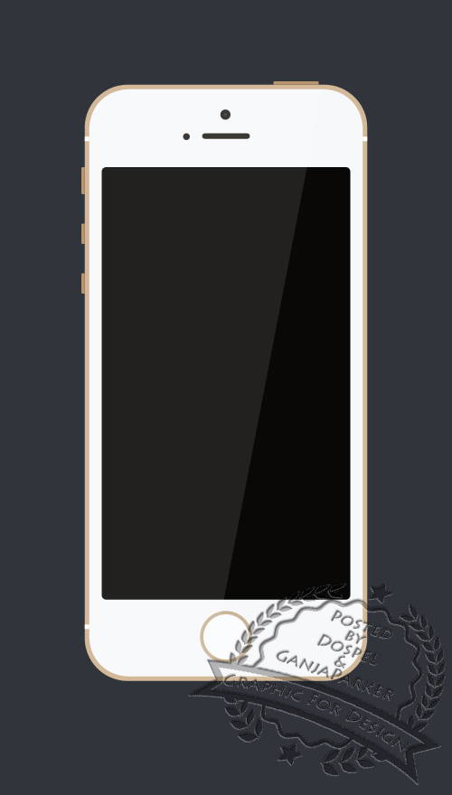 PSD Source - Simple iPhone 5s