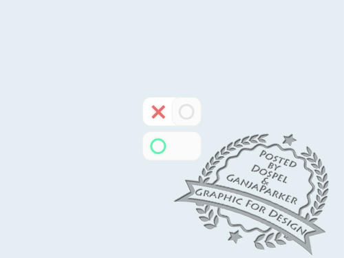 PSD Web Design - On Off Buttons - October 2013