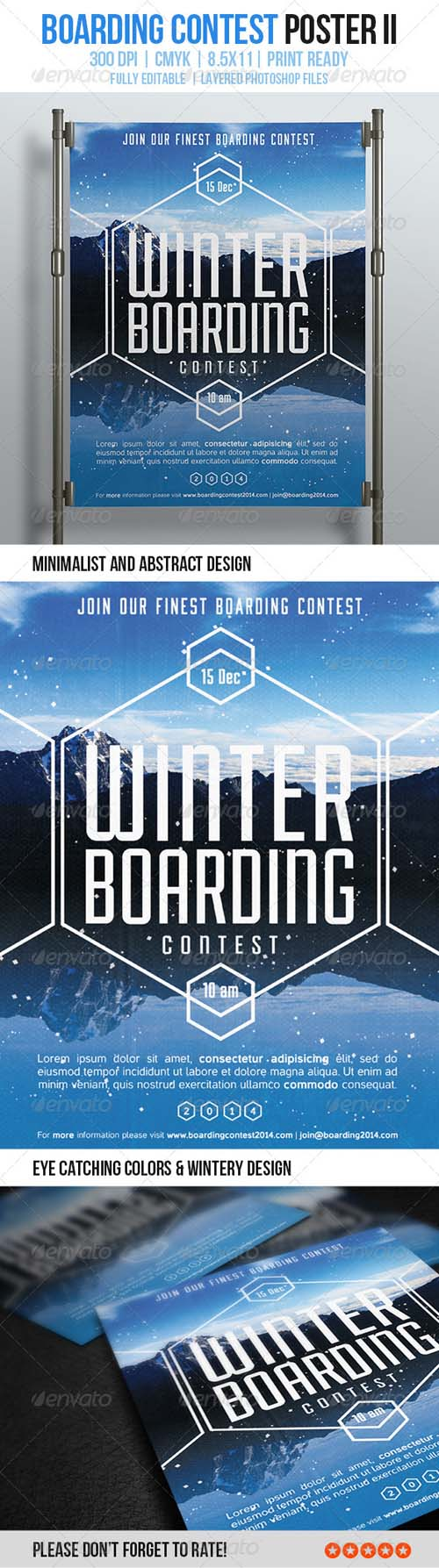 Boarding Contest Poster II