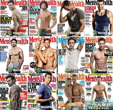 Men's Health South Africa 2013 Full Collection