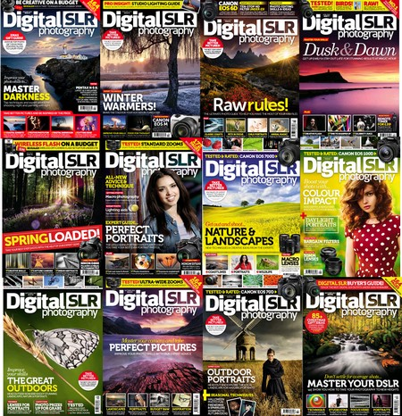 Digital SLR Photography - Full Year 2013 Issues Collection