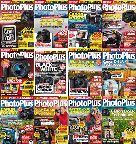 PhotoPlus: The Canon Magazine - Full Year 2013 Issues Collection (True PDF)