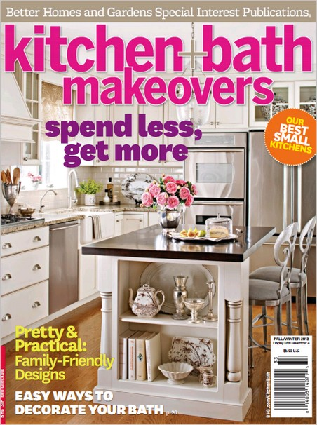 Kitchen + Bath Makeovers - Fall/Winter 2013