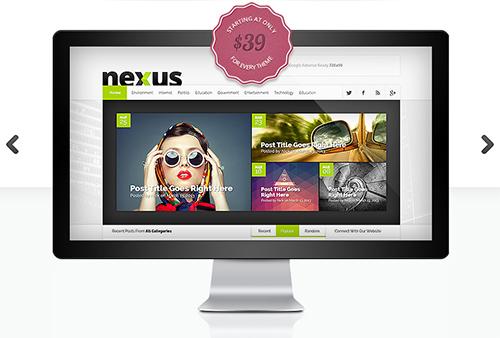ElegantThemes - Nexus v1.3 - WordPress Theme