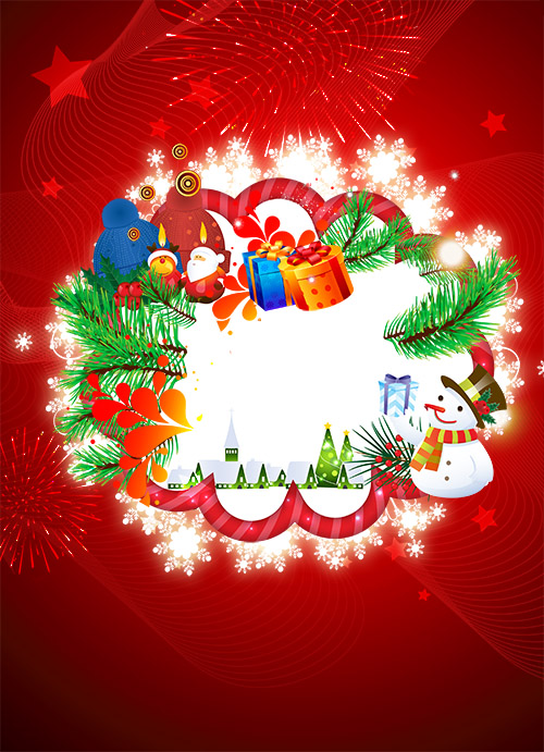 PSD Source - Christmas and New Year 2014 vol.3