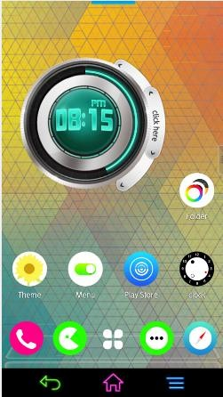 My OS 7 II Next Launcher Theme v1.0 (Android Theme)