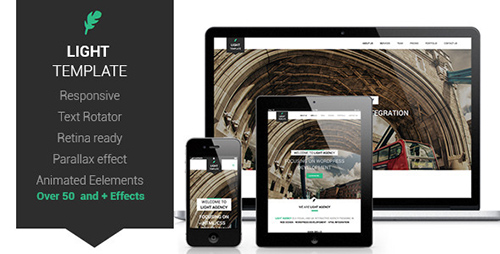 ThemeForest - Light Responsive Retina Ready Opne-Page Template - RIP
