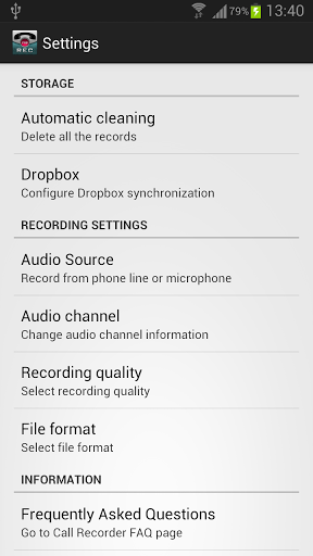 Call Recorder Pro v2.2 (Android Application)