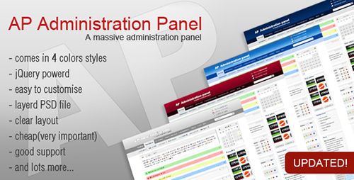 ThemeForest - AP Administration Panel - RIP