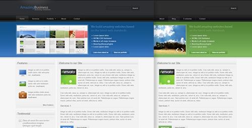 ThemeForest - Amazing Business - Web 2.0 Theme - RIP