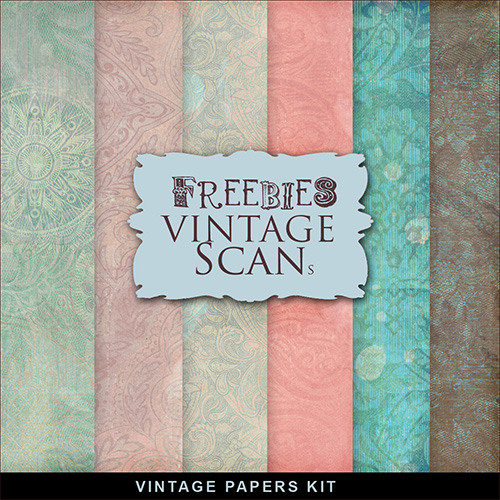Textures - Old Vintage Winter Backgrounds