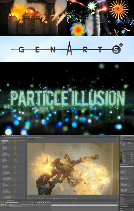 GenArts particleIllusion 1.0.41 (+ Emitter's) for Adobe After Effects [CS3-CC] (Mac OS X)