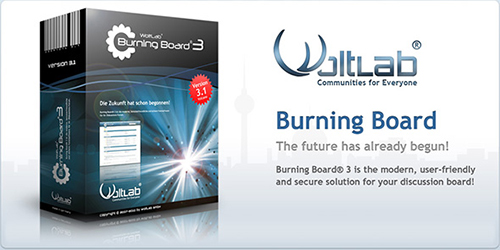 Woltlab Burning Board v3.1.8 - RETAiL RELEASE