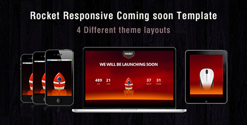 ThemeForest - Rocket coming soon - RIP