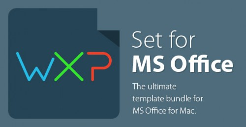 Set for MS Office 1.1 MacOSX Retail