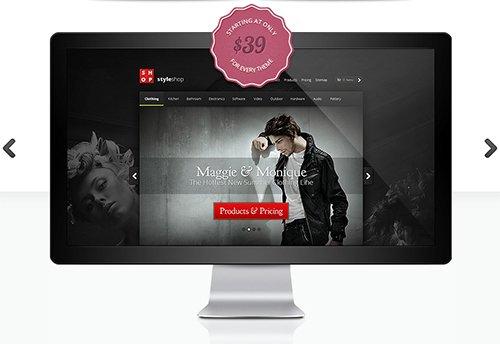 ElegantThemes - StyleShop v1.6 - eCommerce WordPress Theme