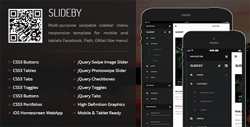 ThemeForest - Slideby Mobile & Tablet Responsive Template - RIP