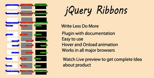 CodeCanyon - Jquery Ribbon Plugin - RIP