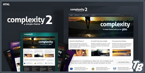 ThemeForest - Complexity v2.0 - Premium HTML Theme - FULL