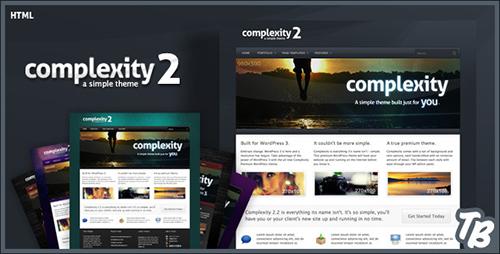 ThemeForest - Complexity v2.0 - Premium HTML Theme - FULL
