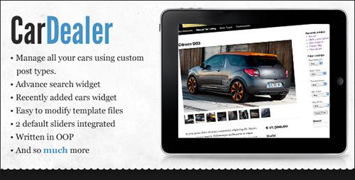 CodeCanyon - WordPress Car Dealer v1.0.3