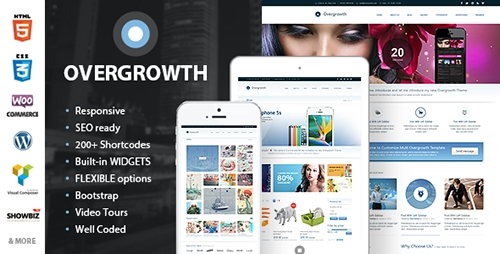 ThemeForest - Overgrowth v1.3.1 - Retina Responsive Multi-Purpose Theme