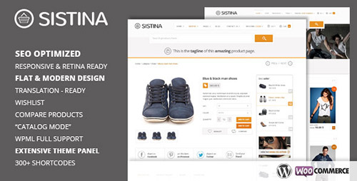 ThemeForest - Sistina v1.2.1 - WordPress Multipurpose Shop Theme
