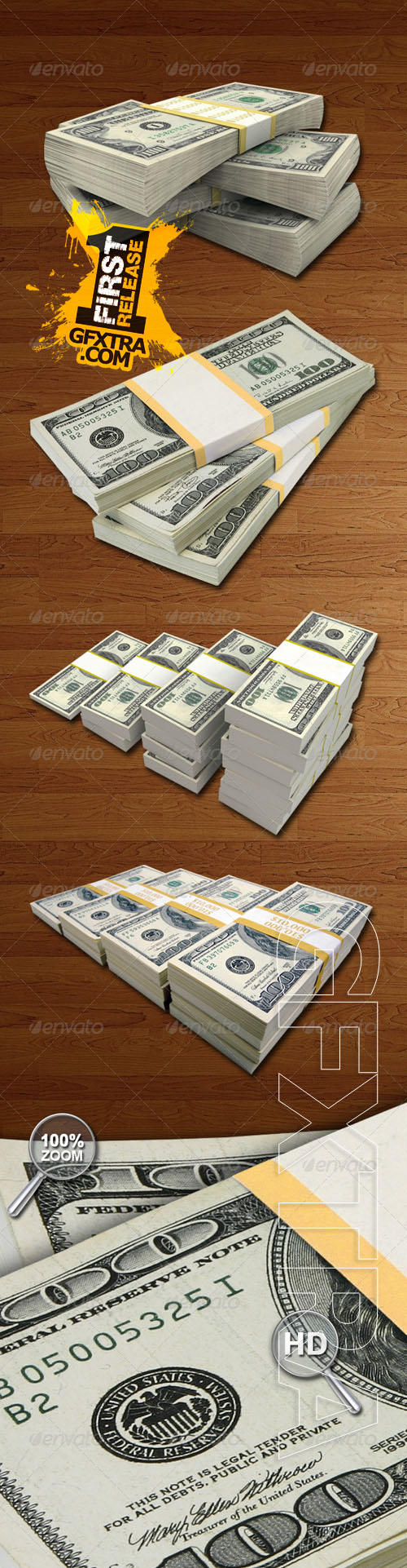 GraphicRiver - Money Packs Hi-Res 4809286