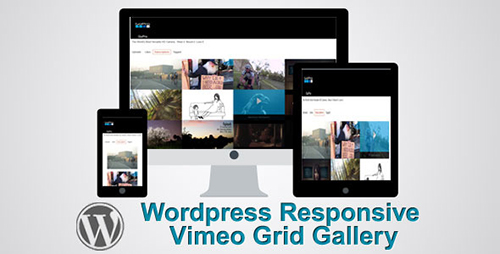 CodeCanyon - Responsiive Wordpress Vimeo Grid Video Gallery v0.0.1 - FULL