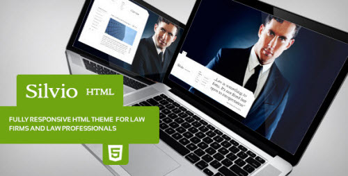 ThemeForest - Silvio - HTML Theme for Law Firm - RIP
