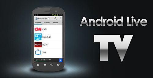 CodeCanyon - Android Live TV v1.0