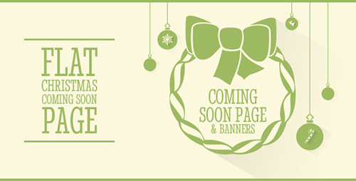 ThemeForest - Clipsa - Christmas Coming Soon Page - RIP