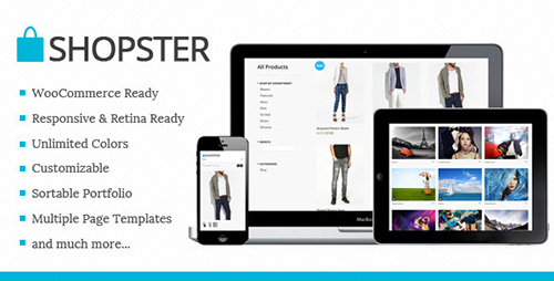 ThemeForest - Shopster v1.0.1 - Retina Responsive WooCommerce Theme