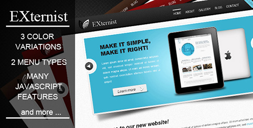 Mojo-Themes - EXternist - Clean Business Template - RIP