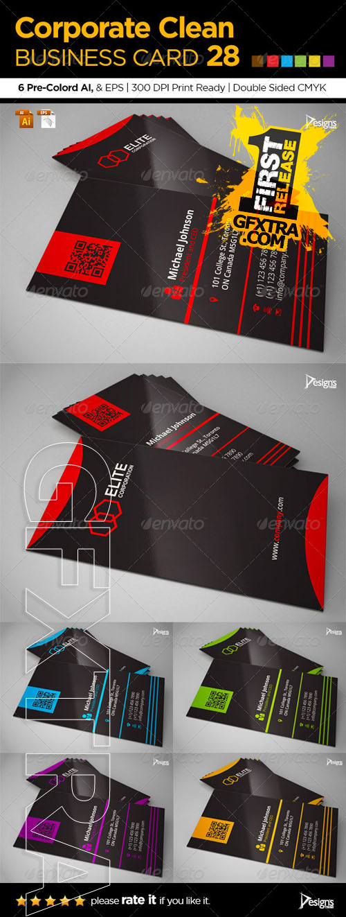GraphicRiver - Corporate Clean Business Card 28