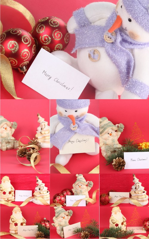 Stock Photos - Christmas Cards 2
