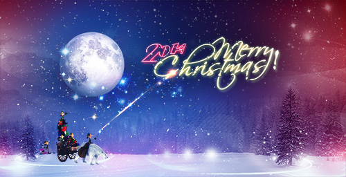 PSD Source - Christmas and New Year 2014 vol.34